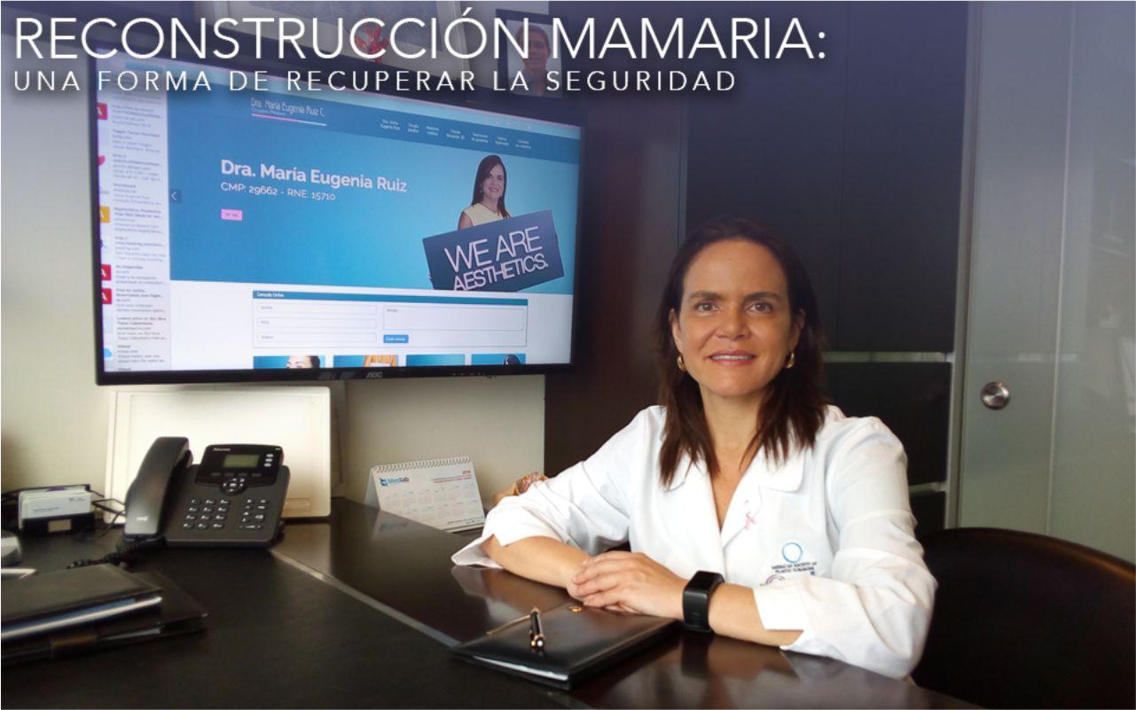 La reconstrucción mamaria: una forma de recuperar la seguridad