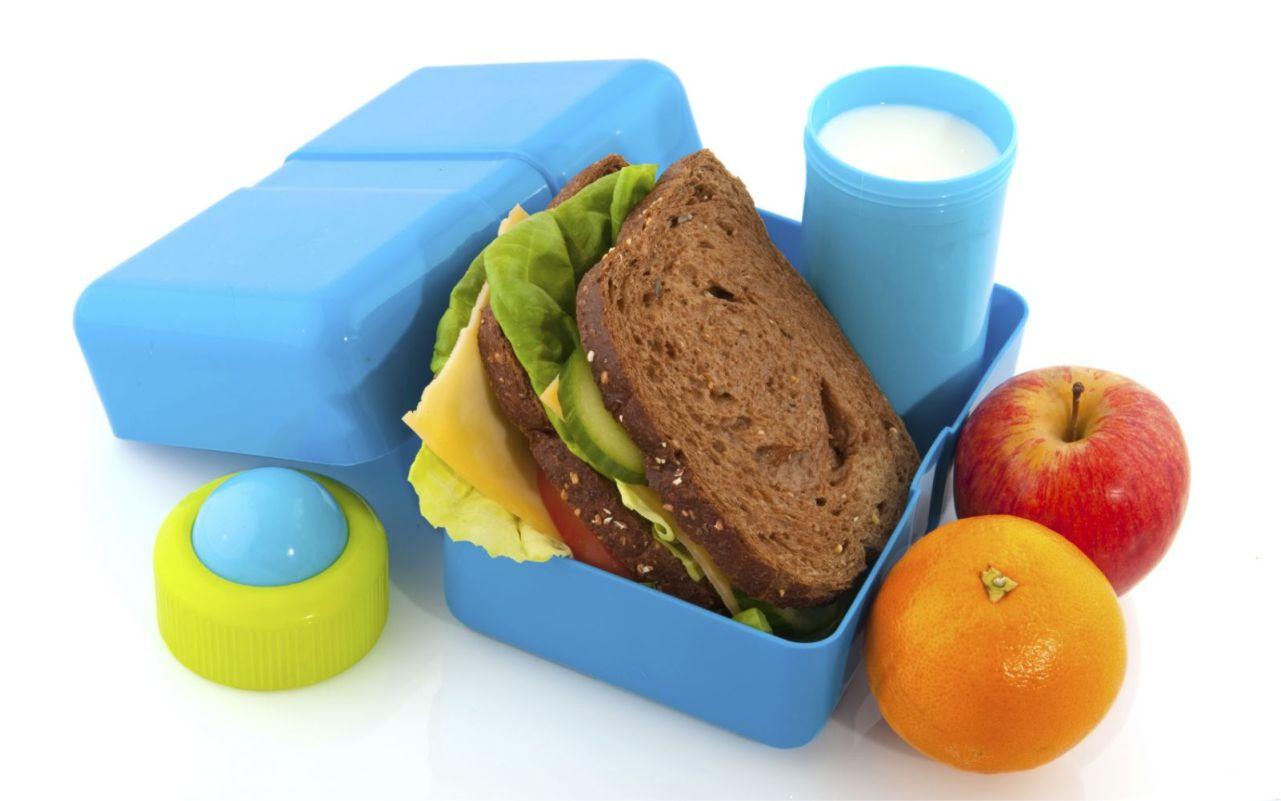 Loncheras escolares saludables
